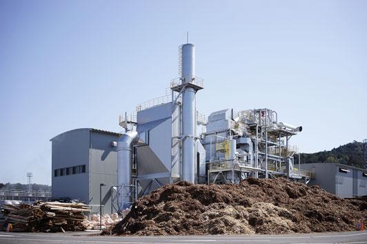 バイオマス火力発電所